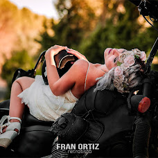 Wedding photographer Fran Ortiz (franortiz). Photo of 02.01.2018