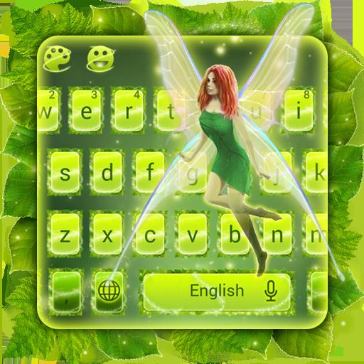 Leafy Flying Fairy Keyboard