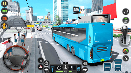 Modern Bus Simulator Drive 3D: New Bus Games Free apkmr screenshots 17
