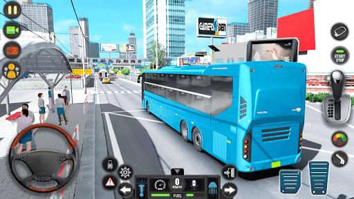 Modern Bus Simulator Drive 3D: New Bus Games Free apktram screenshots 17