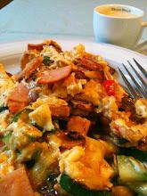 Photo: 124/366 - 'egg mush' breakfast