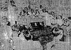 Photo: Bongobondhu Sheikh Mujibur Rahman in Panchagarh, in 1969