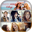Video Photo Collage Maker with Music icon