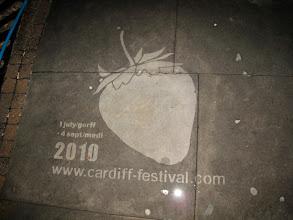 Photo: Reverse Graffiti for the Cardiff Festival