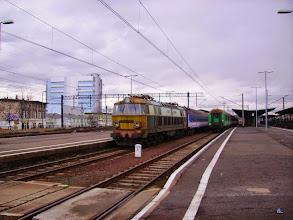 Photo: Jelenia Góra: ET22-259 z pociągiem 16201 relacji Warszawa Wschodnia - Jelenia Góra przy peronie 3