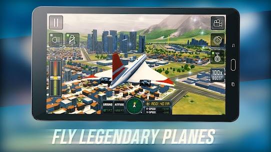 Flight Sim 2018 MOD APK | Flight Sim Unlimited Money APK 8