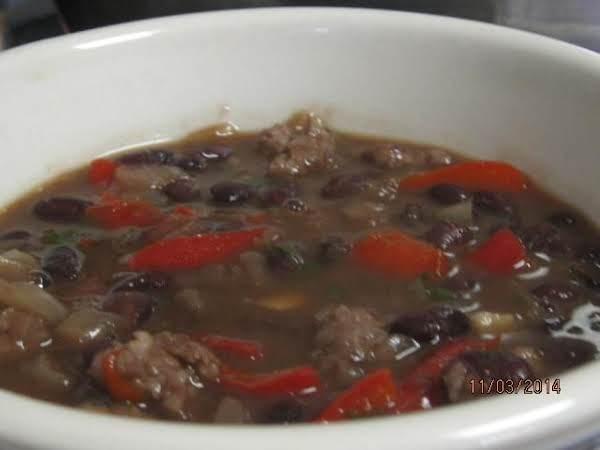 30-minute Black Bean Soup Recipe