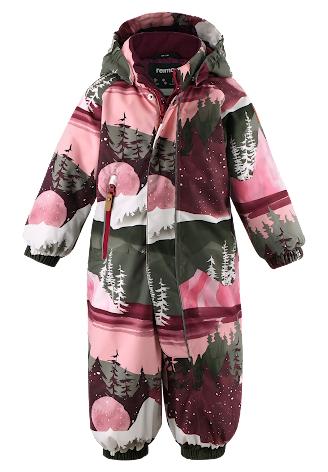 Reimatec Puhuri 510306-3917 Lingonberry Red vinterdress