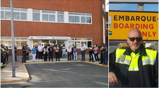 Consternación por el fallecimiento del jefe de servicio de la Policía Portuaria