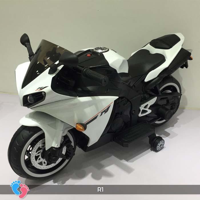Xe mô tô điện thể thao cho trẻ R1 16