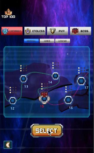 Space Shooter : Galaxy War 1.0.9 screenshots 1
