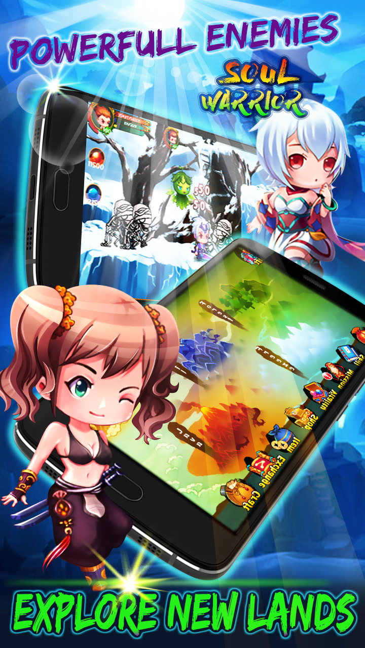 Soul Warriors \342\200\223  RPG Adventure Screenshot 2