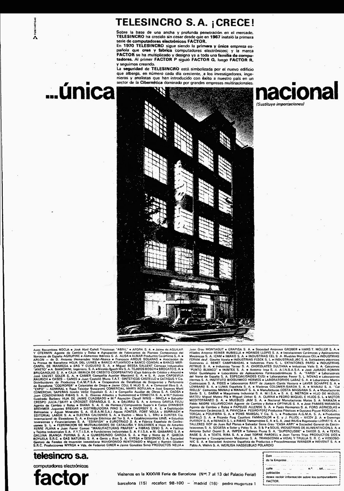 Photo: ABC 3 de Juny del 1970