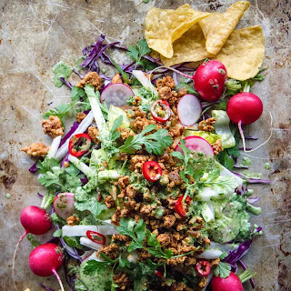 Turkey Taco Salad.