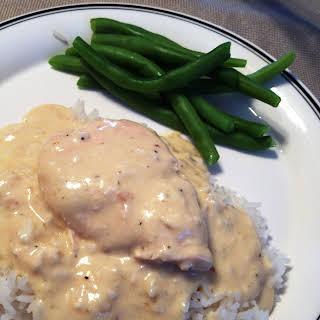 Creamy Crock Pot Chicken.