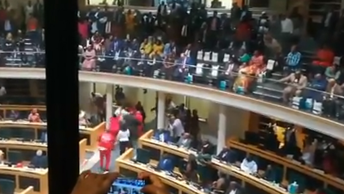 WATCH | EFF booted from Eastern Cape provincial legislature - SowetanLIVE