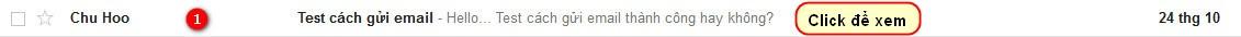 Xem email