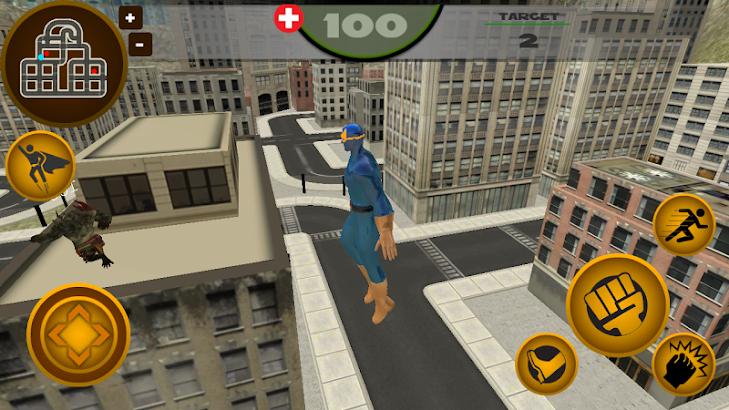 Super Blue Hero- screenshot thumbnail