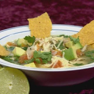 Gluten-Free Chicken Tortilla Soup.