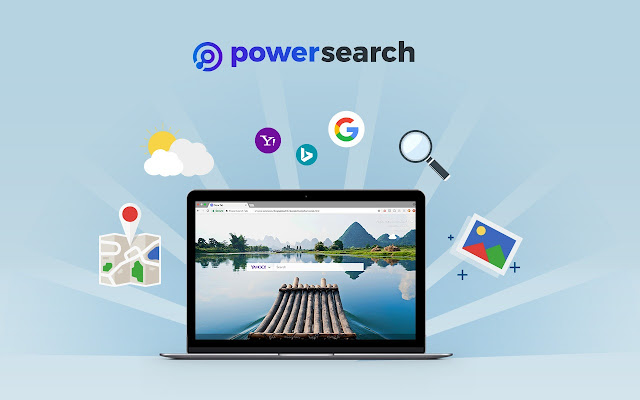 Power Search New Tab