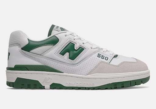 This Boston-Friendly New Balance 550 Features Some Lucky Green Accents