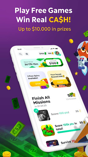GAMEE - Play Free Games, WIN REAL CASH! Big Prizes  screenshots 1
