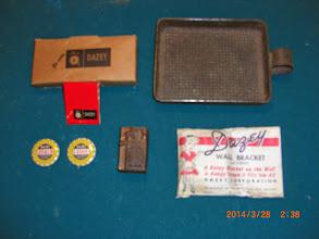 Photo: DAZEY ITEMS-----------Matches, Whey Screen, Insp. Pins, Printer Block, & Wall Bracket
