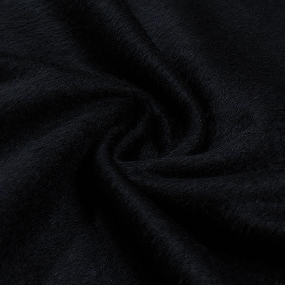 Borstad Kappull - svart