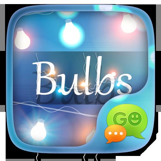 GO SMS PRO BULBS THEME 個人化 LOGO-玩APPs