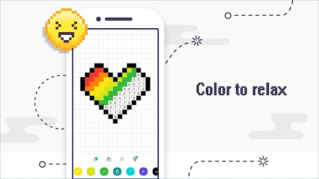 Color by Number - Pixel Coloring Book