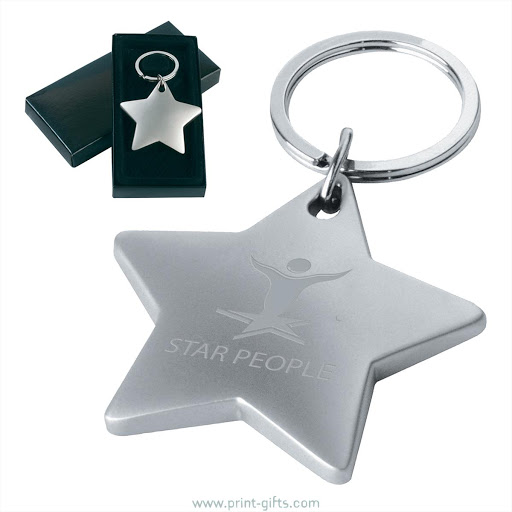 Starlight Metal Keyrings for Engraving