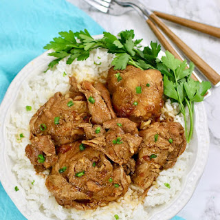Filipino Chicken Adobo.