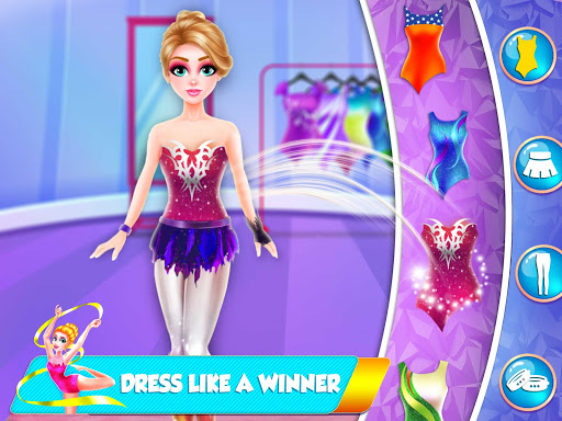 Gymnastics Star Girl Dress Up Fashion apkmr screenshots 3