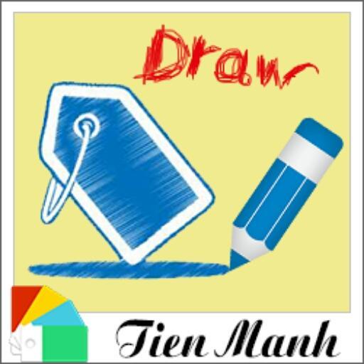 TM Xperia Theme Draw Paper