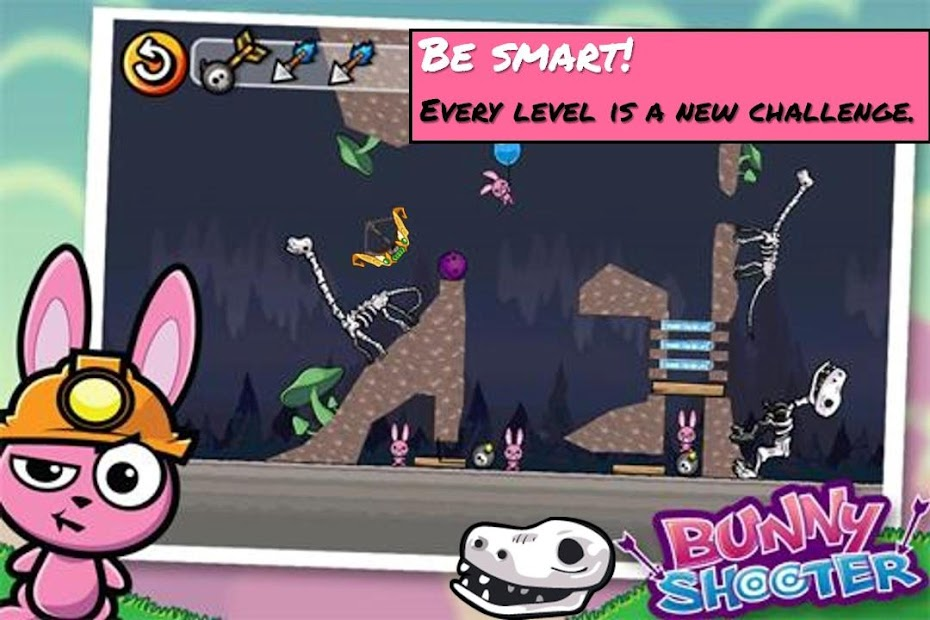 Bunny Shooter Free Funny Archery Game screenshot 8