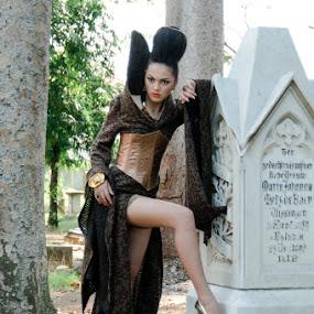 Angel by Basuki Mangkusudharma - People Fashion ( angel )