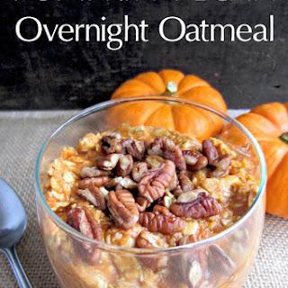 Pumpkin Pecan Overnight Oatmeal