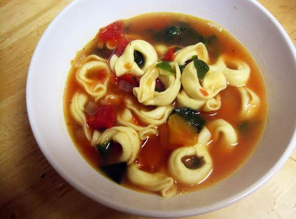Tortellini Soup With Basil Recipe