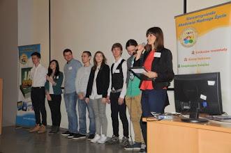 Photo: Martyna Kruszyńska i zespół z IX LO