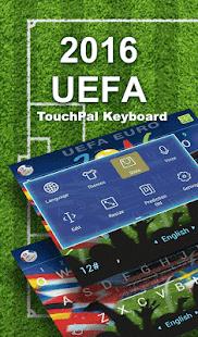 2016 UEFA Cup Keyboard Theme - náhled