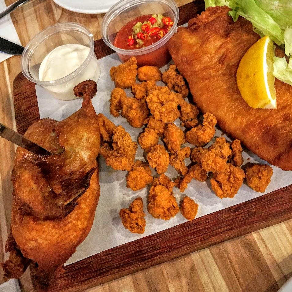 Fish & Bird Platter