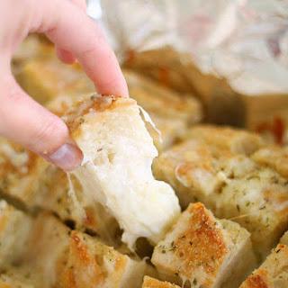 Cheesy Pull Apart Garlic Bread