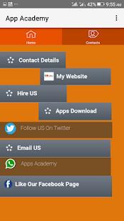 Apps Academy - náhled