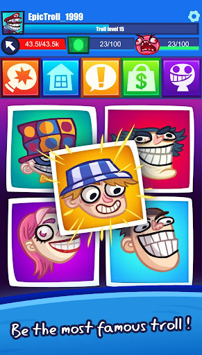 Troll Face Clicker Quest 0.98 Screenshots 5