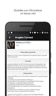Imagina Connect – Vignette de la capture d'écran