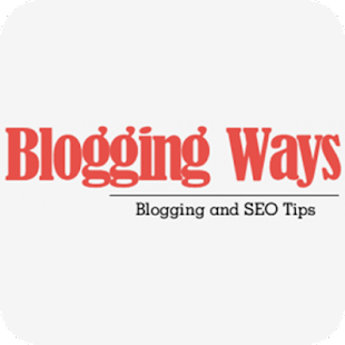 Blogging Ways- screenshot thumbnail