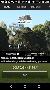 Moffett Field Golf Tee Times- screenshot thumbnail