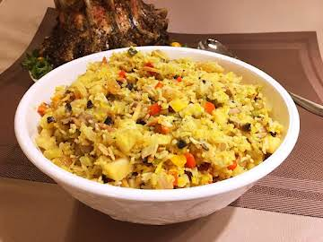 Saffron Rice Stuffing