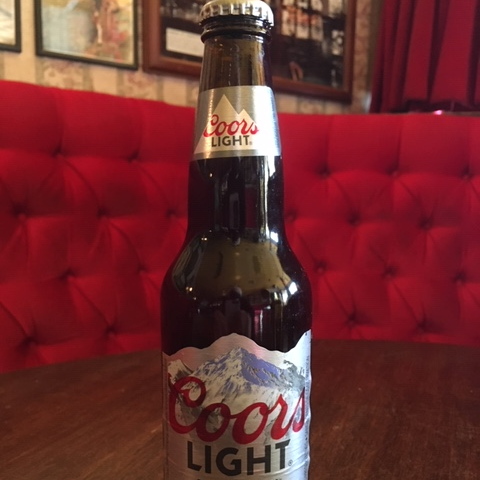 Coors Light Bottle 341ml