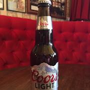 Coors Light Bottle 341ml